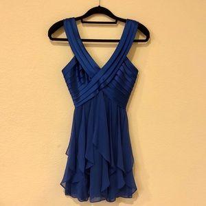 BCBG MAXAZRIA Royal Cocktail Blue Dress